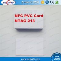 NFC NTAG213 Blank PVC Card, NTAG213 Blank card