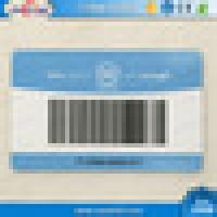 NTAG213 RFID PVC Card with Barcode / QR
