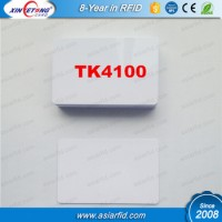 White TK4100 PVC Door Control Entry Access Card EM/ID Card
