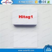 Printable plastic blank card Hitag1 2048bits