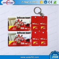 Customized card printed standard plus 2 key tag china manufacturer