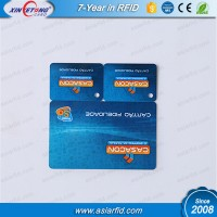 Non-standard PVC card plus two small size key chain card