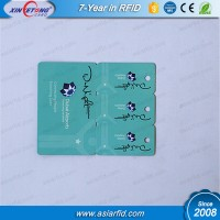 Plastic C+1/+2/+3 Costom Cards/ Key Tags, 2 in 1 contected card