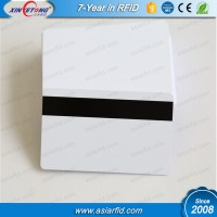 CR80 inkjet magnetic printable plastic card