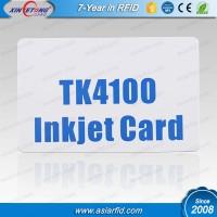 Contact blank inkjet card TK4100/EM4200 plastic card, inkjet ID card, pvc card