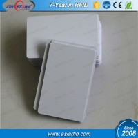 Customized Printing Code Passive RFID Inkjet Blank Card