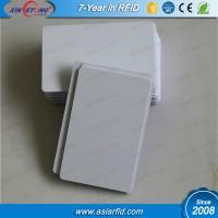 125Kmz-134KMz LF RFID Smart inkjet card Hitag1,Hitag2 chip blank inkjet card
