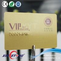 Embossing number printing Signature Panel Printing plastic card