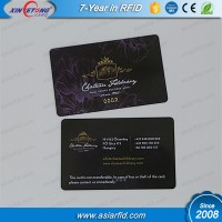 Plastic 125khz EM4200 RFID Card only Read ISO CR80 Business PVC Card