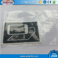 2015 New style NTAG203 NFC labels for 3D virtal reality glasses google cardboard