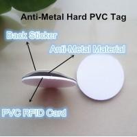 18mm minimum size PVC tag,/18mm hard coin tag /18mm NFC anti metal tag