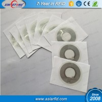 25mm mini side Aluminium RFID tag with chip Ntag215