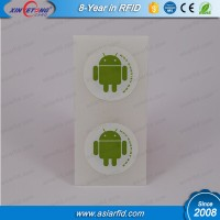 NTAG215 NFC passive RFID Sticker for SMS requests