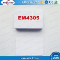 EM4305 Thermal printable PVC Blank card