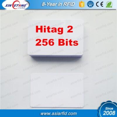 Hitag 2 256bits Blank pvc card for Thermal printer