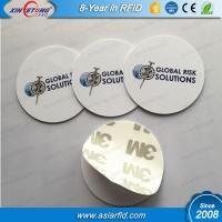 Printable LF MF 1K Hard tags with anti-metal sticker