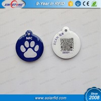 QR Printing NFC Tag Customized QR Epoxy Tag Use on Outside Tag