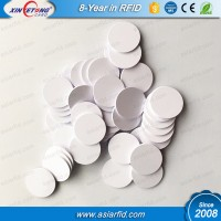 ISO11784/5 T5577 plastic coin tags for Access Controlling