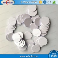 25MM Smallest Size RFID Coin tag 125khz EM4200