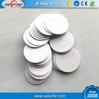 ISO11784/5 Re-writable EM4305 RFID Hard PVC tags Passive PVC Tags