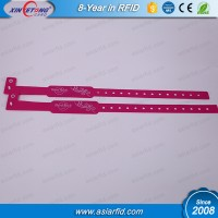 Waterproof RFID Wristband F08 Classic 1K Chip use on hospital wristband