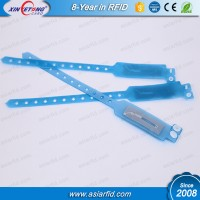 RFID PVC Wristband transparent RFID Wristband Ultralight