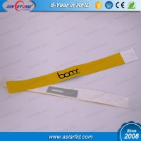 ISO14443A RFID Ultralight Paper Waterproof Wristband for Event