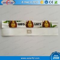 ISO15693 ICODE SLI Waterproof Colorful Paper Wristband
