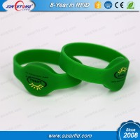 125Khz T5577 Silicone Wristband& Barcelet for Store Patient info with Card Slot
