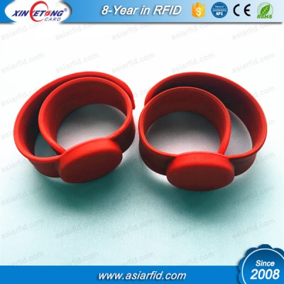 Waterproof wristband for fitbit flex for F08 1K RFID Silicone Wristband price