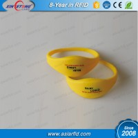 RFID Wristband Silicone MF  S50 Classic 1K Printed Silicone Wrist Bands