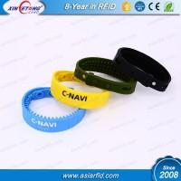 ISO/IEC 18000-6C RFID Recycled Silicone Wristband UHF Marathon Wristband