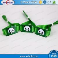 RFID Wristband Tag Fudan 08 1K fabric Wristband China Manufacturer